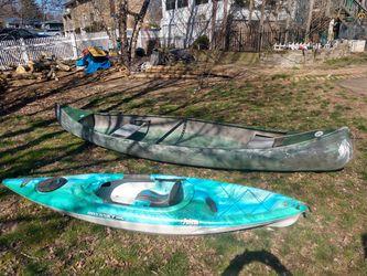 Sears 15 canoe (kayak sold) for Sale in Bardonia,  NY