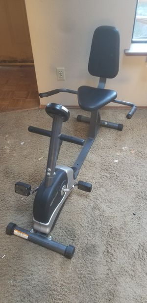 Sit down exercise bike for Sale in Lacey, WA