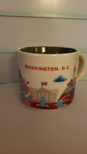 Washington D.C You are here series mug for Sale in Seattle, WA