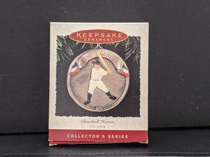 Hallmark Keepsake Christmas Ornament 1995 Lou Gehrig Baseball Yankees for Sale in Independence, KS