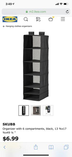 Closet organizer for Sale in Las Vegas, NV
