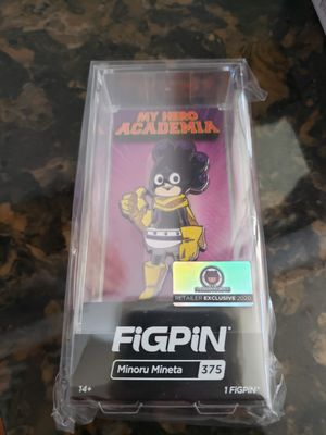 *$175* Figpin Mineta Chase Glitter fugitive toys exclusive My Hero Academia MHA sdcc for Sale in Cypress, CA