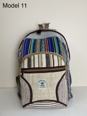 Backpack - Hemp Backpack made in Nepal for Sale in Portland, OR
