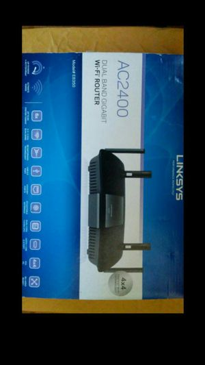 Linksys EA6350 AC2400 wifi router for Sale in West Los Angeles, CA