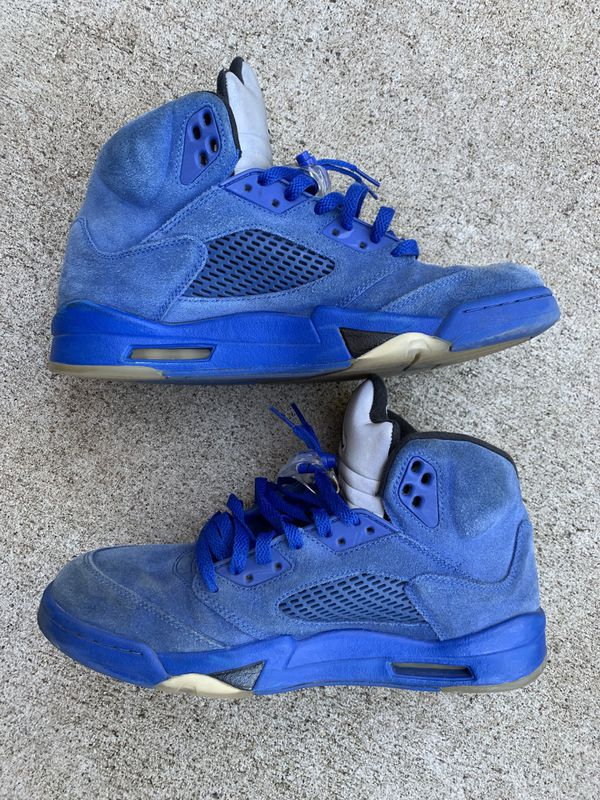 13a42d45ff8cfd Jordan 5 Blue Suede - Size 11 for Sale in Pacifica