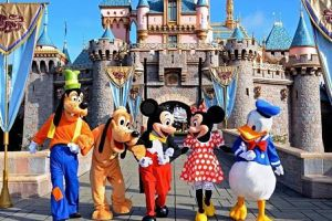 4 Disneyland tickets for Sale in Los Angeles, CA