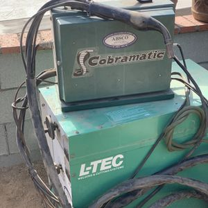 Cobramatic and L-TEC vi-206cv welding y cutting system for Sale in Riverside, CA