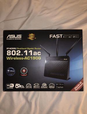 Asus AC1900 WiFi Router for Sale in San Mateo, CA