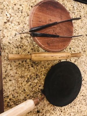 Rolling pins and iron pan for Sale in Hoffman Estates, IL