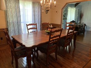 Dining table with chairs for Sale in Tulsa, OK