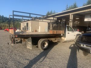 12' service bed with side tool boxes for Sale in Eagle Creek, OR