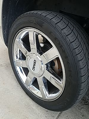 "22"" Escalade Wheels Caps not Included for Sale in Denver, CO"