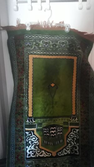 Beautiful hand woven persian prayer rug for Sale in Lubbock, TX