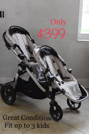 Baby Jogger City Select - Double Stroller for Sale in Pembroke Pines, FL