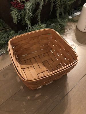 Longaberger Basket for Sale in Puyallup, WA