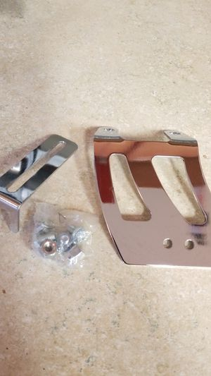 Chevy small block throttle cable bracket chrome for Sale in Surprise, AZ