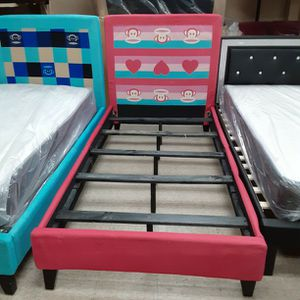New Bed Frame Twin Size Bed Only $100 for Sale in Rialto, CA