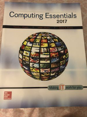 Computer Class Textbook for Sale in Millersville, MD