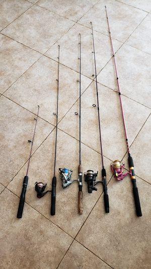 Fishing Poles Rods Reels for Sale in Orange, CA