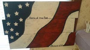 Hand painted wood sign for Sale in Vidalia, GA