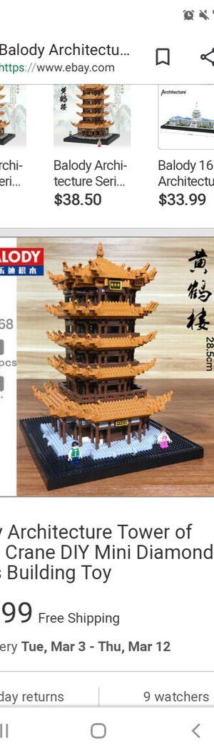 Mini Blocks Lego Tower for Sale in Seattle, WA