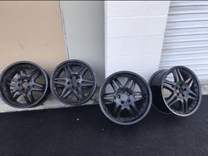 19in Black Rims for Sale in Alta Loma, CA