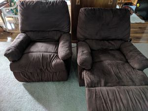 2 brown recliners for Sale in Hilo, HI