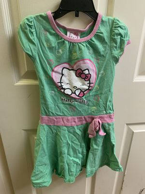 Hello kitty dress size 5 for Sale in San Diego, CA