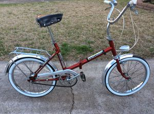 Vintage Exclusive folding bike for Sale in Dallas, TX