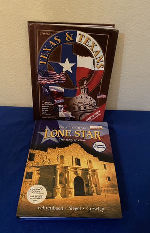 Lone Star , The Story of Texas and Texas & Texans Hardcover Books for Sale in Windcrest, TX