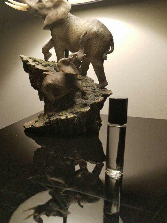 Woman's perfume oils