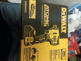 DeWalt 20v Brushless Impact Driver With Charger And 2 Bstteries for Sale in Spokane, WA