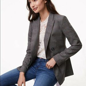 🆕️ NWT LOFT PLAID LONG DOUBLE BREASTED BLAZER for Sale in Bothell, WA