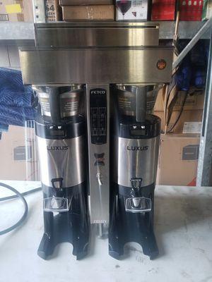 FETCO DUAL HEAD COFFEE MAKER W/DISPENSERS for Sale in Chicago, IL
