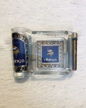 Minnesota Vikings ashtray set for Sale in Los Angeles, CA