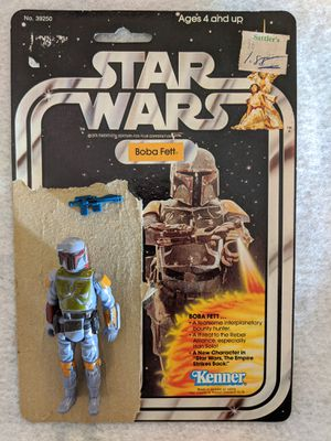 Boba Fett Star Wars 1977 Cardback and action figure for Sale in Phoenix, AZ