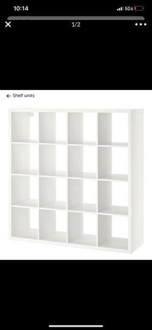 White ikea bookcase for Sale in Trappe, PA