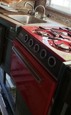 Vintage Trav'ler Rv Travel Trailer Propane Stove Top Oven for Sale in Scappoose, OR