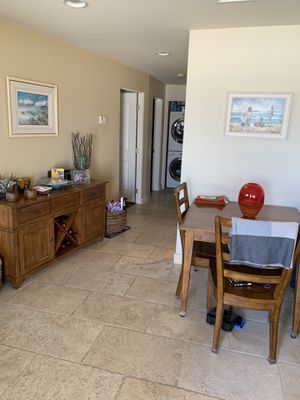MUST SELL TODAY!!!!! Two Love seats and dining table with four chairs. for Sale in San Diego, CA