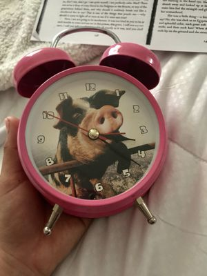 New Piggy Alarm Clock for Sale in San Bernardino, CA
