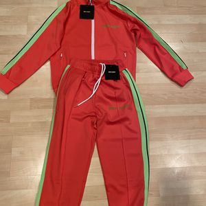 Palm Angels Track Suit Pink & Green Size Small for Sale in Cherry Hill, NJ