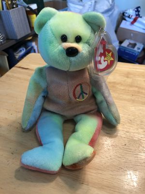 Ty Beanie Babies Peace 1996 for Sale in Plainfield, IL