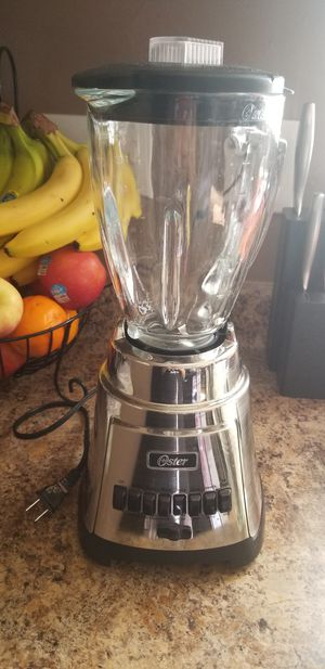 Oster Blender (glass cup) for Sale in Oxnard, CA