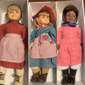The American girls dolls,Kirsten and Addy, also includes clothes and books all for 200 dlls for Sale in Bedford Park, IL