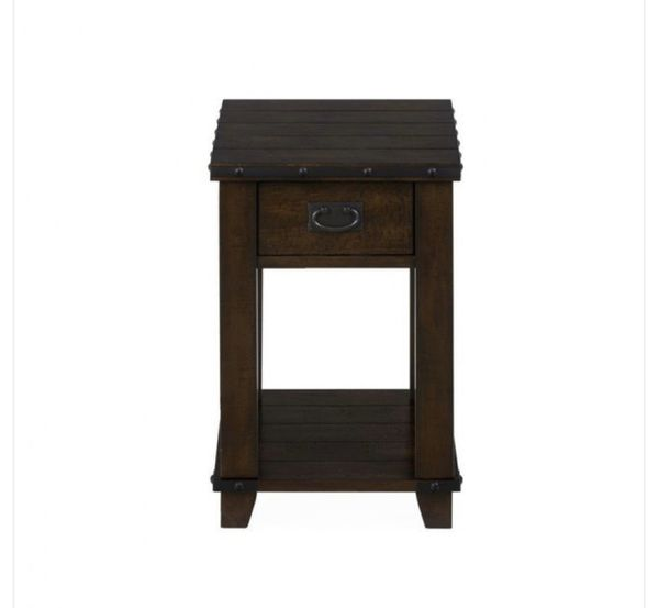 Cassidy Brown Traditional Plank Top End Table , Cassidy Brown Traditional Plank Top Chairside Table Cassidy Brown Traditional Plank Top Cocktail Tabl
