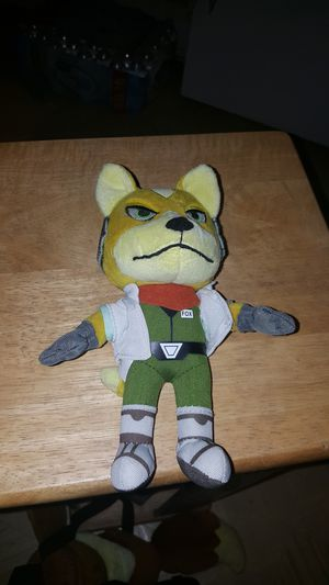 Fox McCloud plushie for Sale in San Diego, CA
