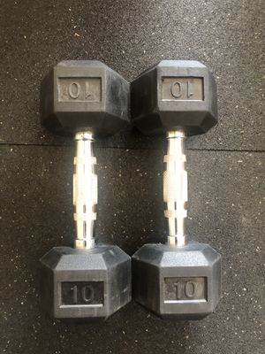 10 Pound Dumbbells - Brand New In Box for Sale in Seattle, WA