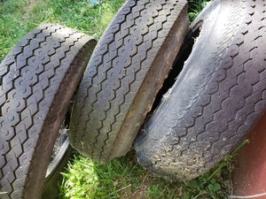 Tires 3 Nanco ST 205/75 D-14 was for Trailer Tires for Sale in Shelton, WA