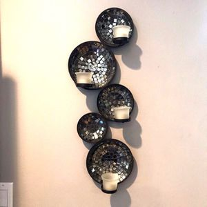 Mirrored Wall Mounted Candle Votive for Sale in Whittier, CA