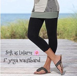 New Black Capri Leggings Soft as Lularoe for Sale in Freeland, MI